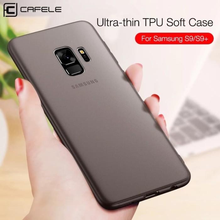 brand new 0fa8d 7e95e Jual Original CAFELE TPU Case Samsung Galaxy S9 Plus S9+ Softcase Casing -  Plus Abu - Kota Yogyakarta - TechnoFun | Tokopedia