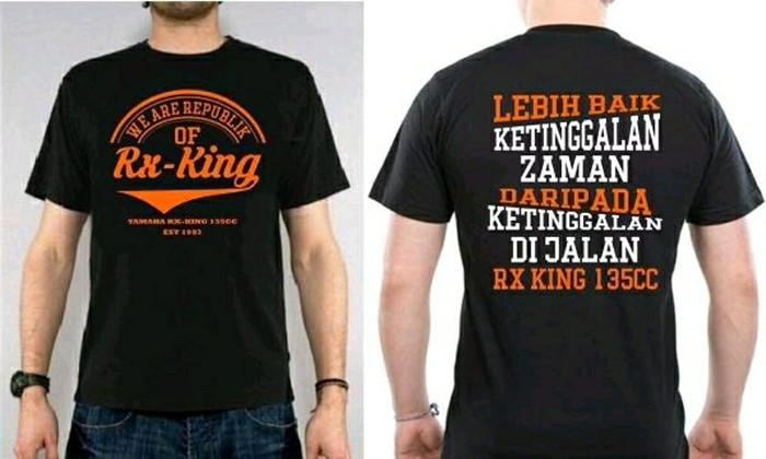 harga Kaos motor rx king - tshirt of rxking Tokopedia.com