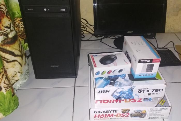 Jual PC GAMING CORE I3 LENGKAP MURAH JUAL CEPAT - Lucyshop indonesia ... 5959f05b1f