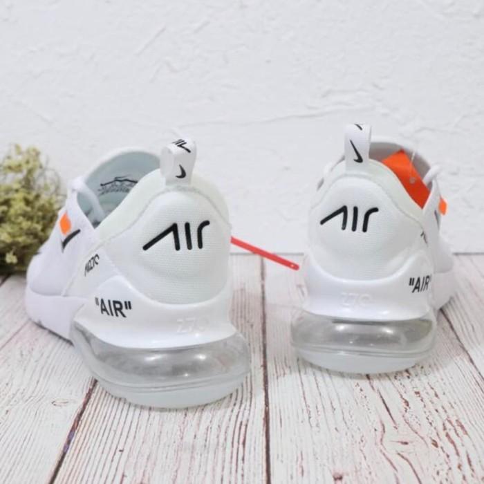 4502971cd1 Jual Nike air max 270 x off white - Putih, 41 - Kota Bandung - kicks ...