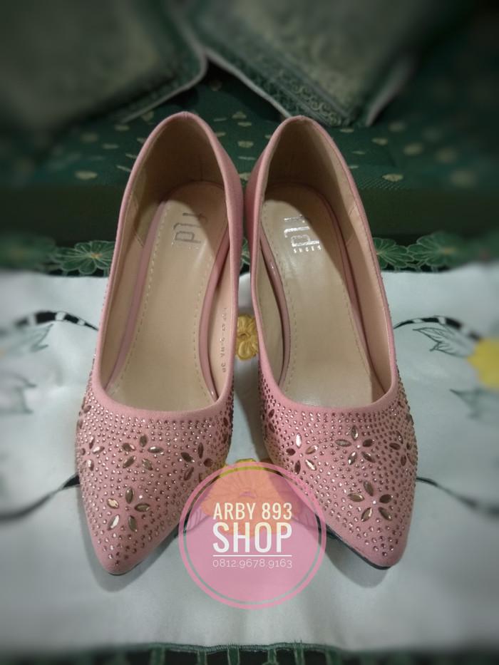Jual Preloved-Sepatu high heels Fladeo size 38 - arby 893  925642628f