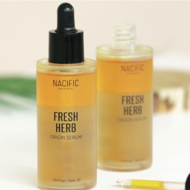 Review Natural Pacific Fresh Herb Serum Untuk Jerawat
