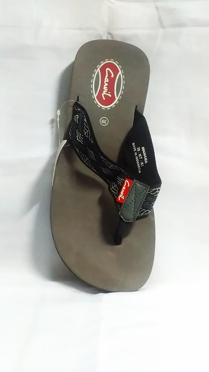 Harga Jual Sandal Pria Carvil Original 2 Best Pro 530000 Promo Sepatu Casual Dress Men Gusten Black Hitam 43 Jepit Manama Ori
