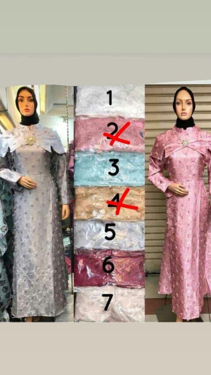 Jual Baju Dress 2018 021 Gamis Sabrina Rubiah Menawan Cantik