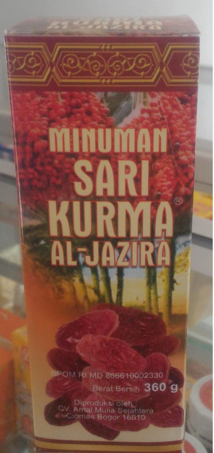 Jual Sari Kurma Al Jazira 360 Gram Griya Herbal Azzahra Tokopedia Aljazira