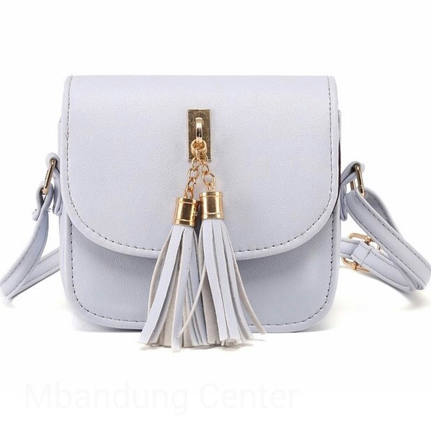 Jual Tas Selempang Candy Bag Silver Krem Black Kulit Sintetis - Krem ... f4830594f6