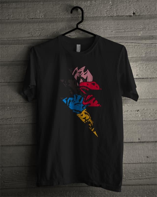 harga Kaos t-shirt kartun superhero tokusatsu power ranger megazord Tokopedia.com