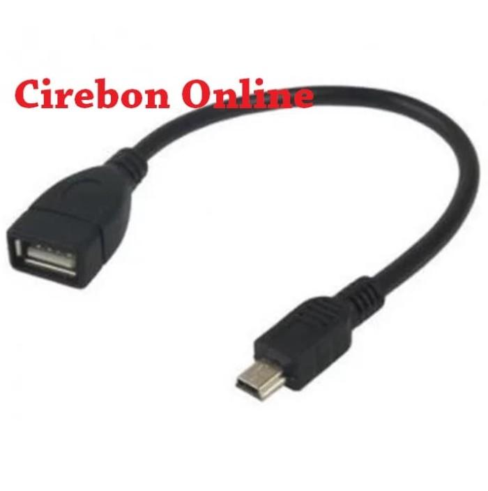 harga Kabel mini usb to otg untuk tape mobil Tokopedia.com