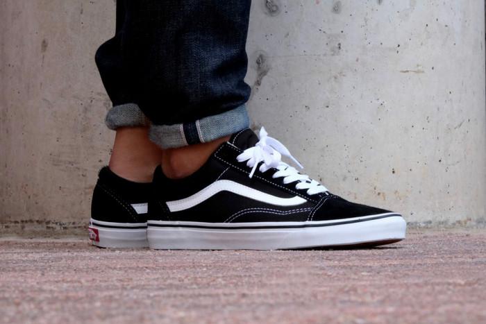bbf329a8423a95 Sepatu Vans Oldskool Black White - Premium Quality - Blanja.com. undefined