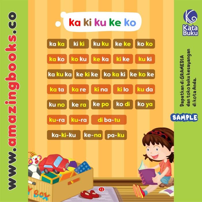 Belajar Membaca Untuk Anak