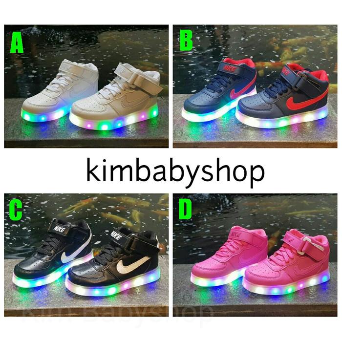 d095728c78c26 Update Harga Sepatu Lampu Anak LED Nike Kids 519 Impor Di Jakarta ...