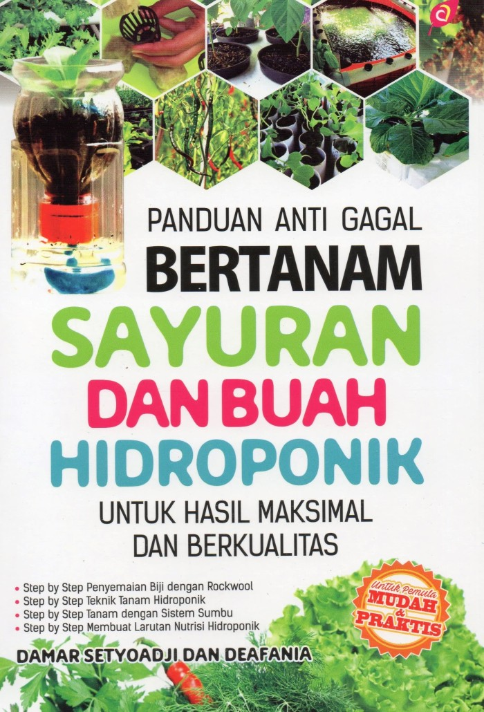 Jual Panduan Anti Gagal Bertanam Sayuran Buah Hidroponik Damar Setyoadi Kota Yogyakarta Stasiunbuku Stasiunbuku Tokopedia