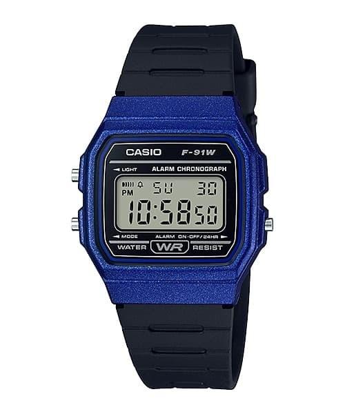 Jual Casio Digital Jam Tangan Pria Wanita Hitam Karet F-91WM-2A ... c82b506aac