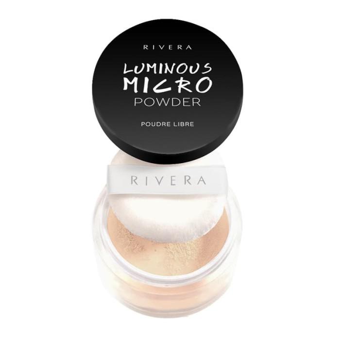 Foto Produk Rivera Luminous Micro Powder 01 Soft Honey dari Rivera Cosmetics