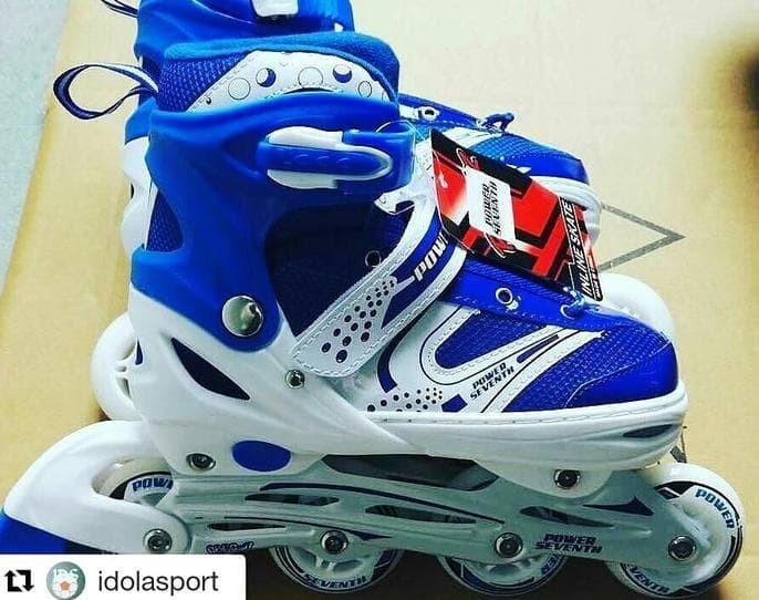 Jual Promo Sepatu Roda Atau Inline Skate Roda Bajaj Sol Jahit Keren ... a2a269d64a