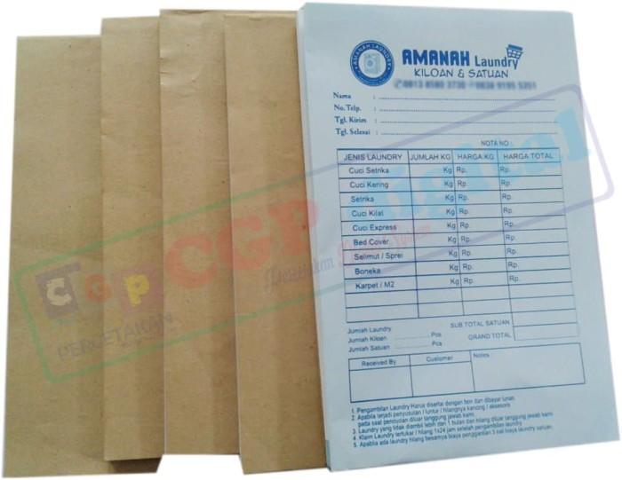 Jual Nota Kontan Custom Untuk Laundry Toko Klontong Bengkel Apotek Dll Kab Bekasi Cgpdigital Tokopedia
