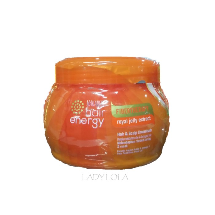 Makarizo Hair Energy Fibertherapy Hair & Scalp Cream 500g Royal Jelly