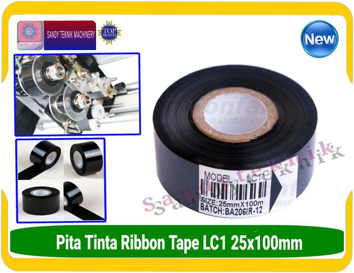 Pita Tinta Ribbon Tape isi 12pcs Uk.25x100 LC1 Murah