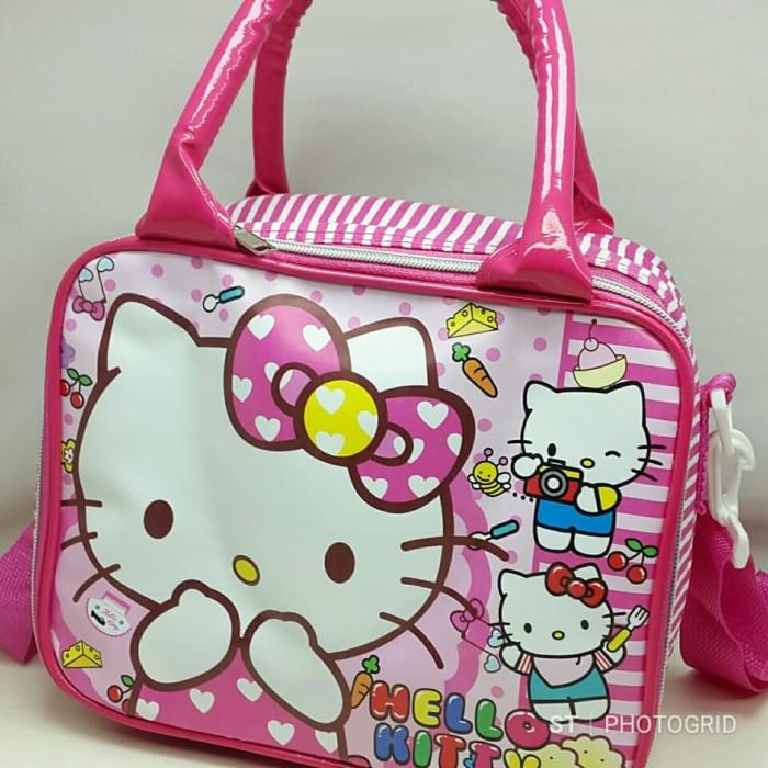 Tas Bekal / Lunch Bag / Koper Kecil untuk Anak HELLO KITTY (LS)