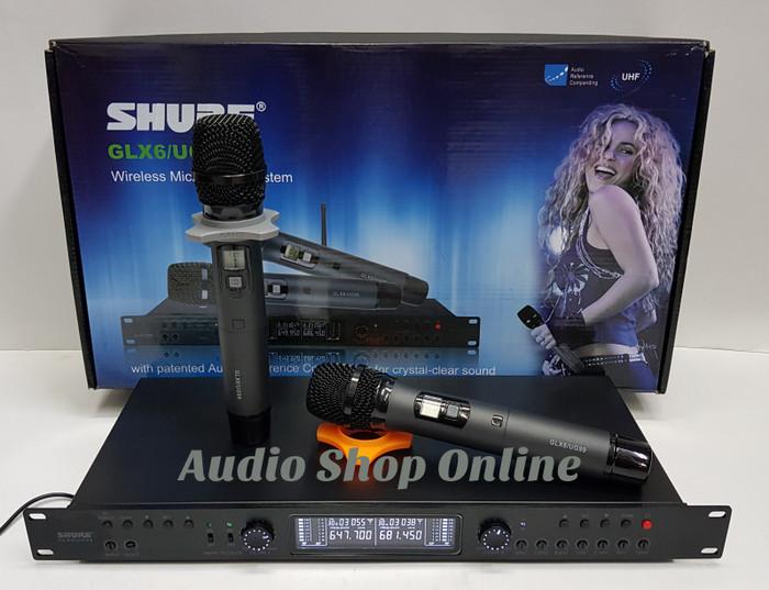 harga Mic wireless shure glx 6/ ug 99 ( anti feedback ) Tokopedia.com