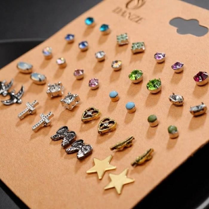 Earrings set - jasmine / anting tusuk / giwang import