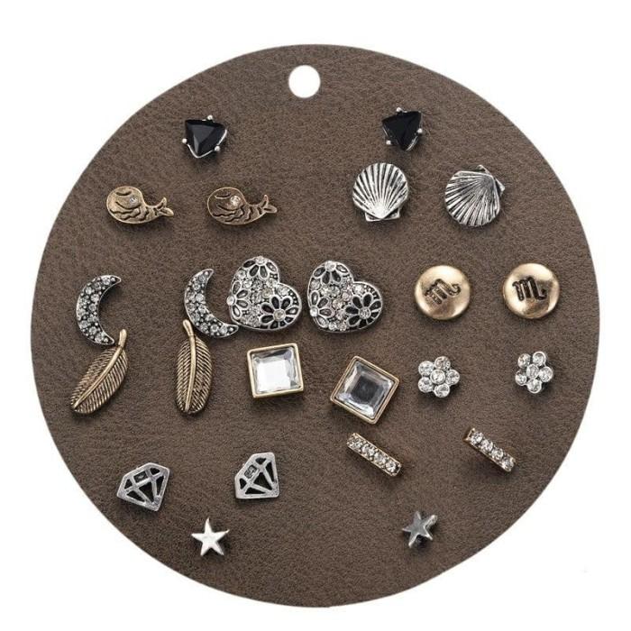 Earrings set - natalia / anting tusuk / giwang import