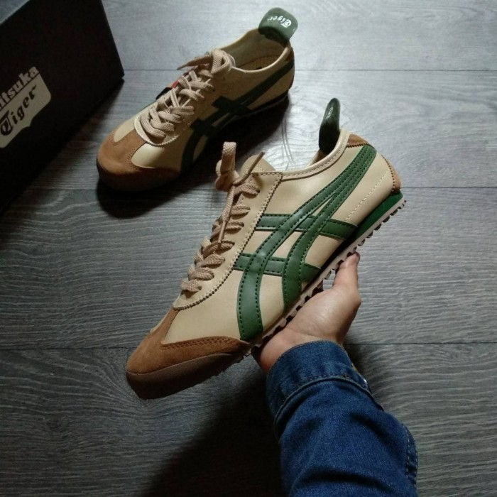 newest 8641e 5d30c onitsuka tiger mexico 66 beige green