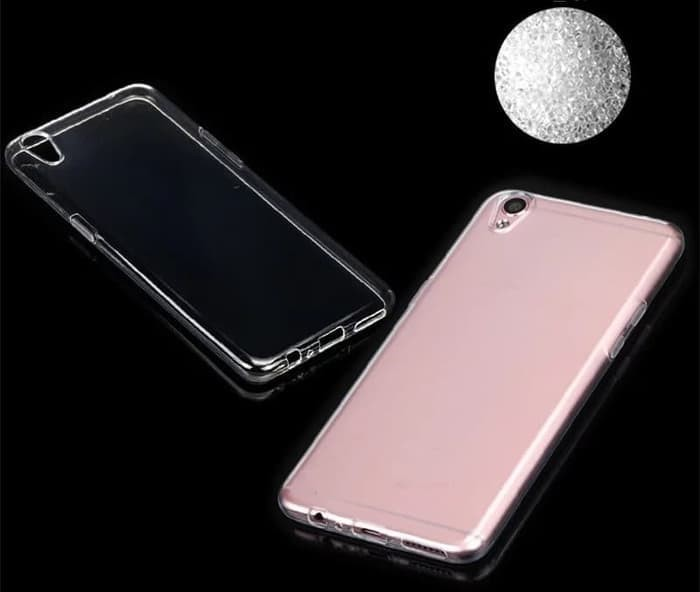 Softcase TPU Bening Transparan Cover Case Casing Oppo A37/A37f/Neo 9