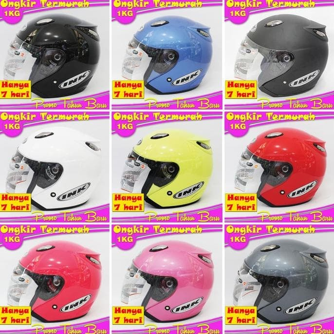 Best Seller Helm Best 1 Hitam Doff Model Ink Centro 1