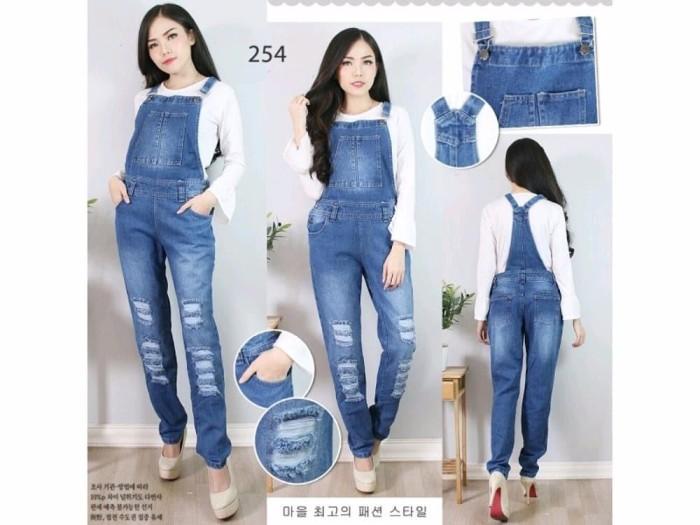 Jual Baju Overall Jumpsuit Jumsuit Werpak Celana Kodok Panjang Jeans