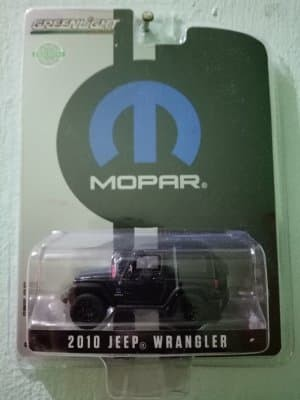 Greenlight Diecast Exclusive MOPAR 2010 Jeep Wrangler Berkualitas