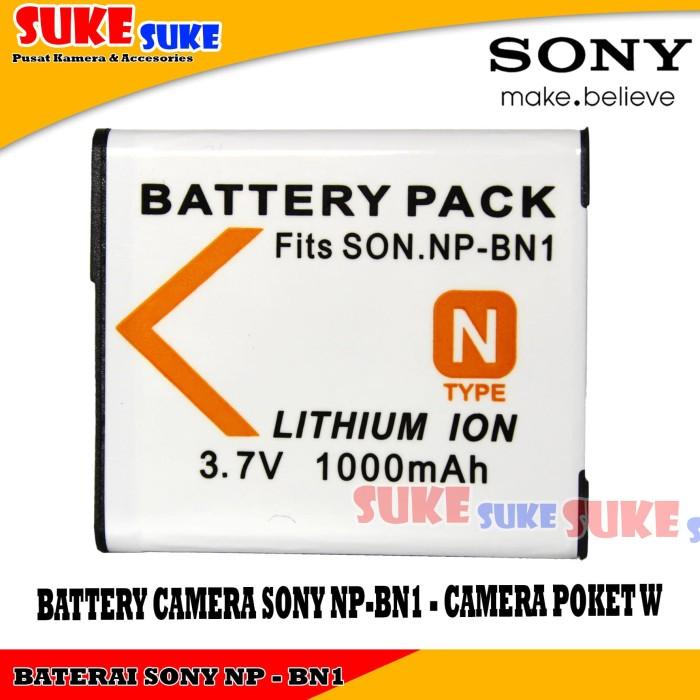 harga Baterai kamera sony np-bn1 - battery camera sony np-bn1 - camera poket Tokopedia.com