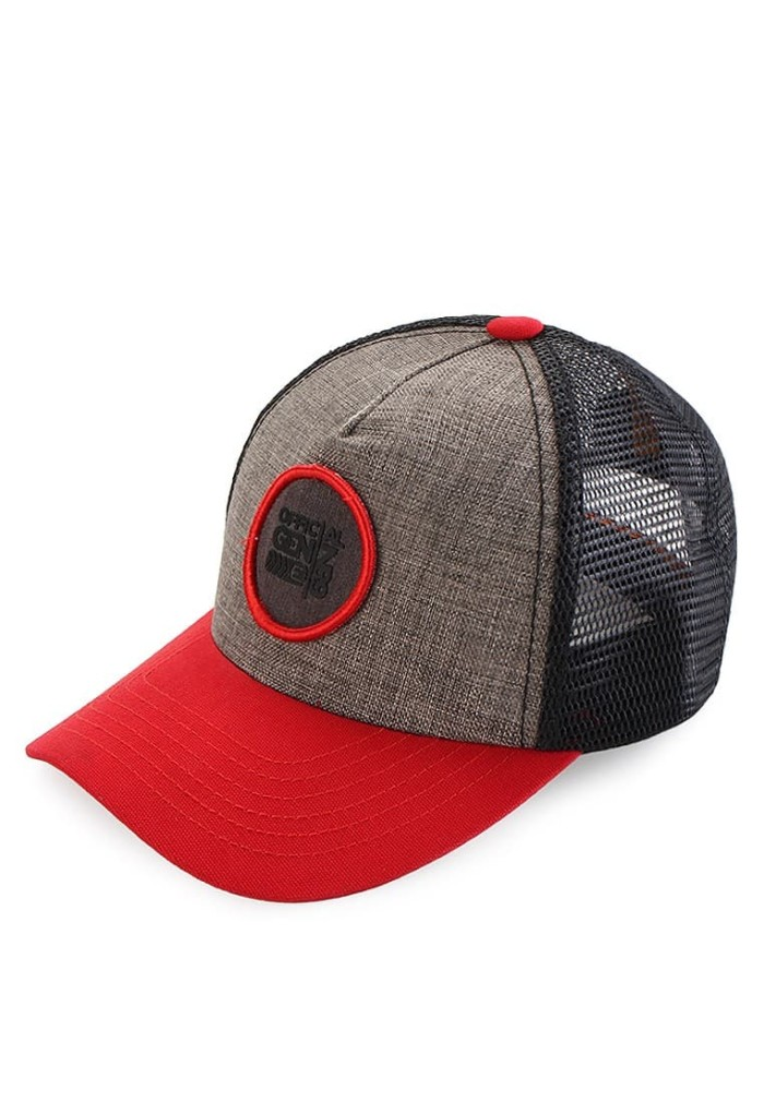 Jual Original Topi Xikno Emba Jeans Red Black - All About Aksesoris ... 22e894899a