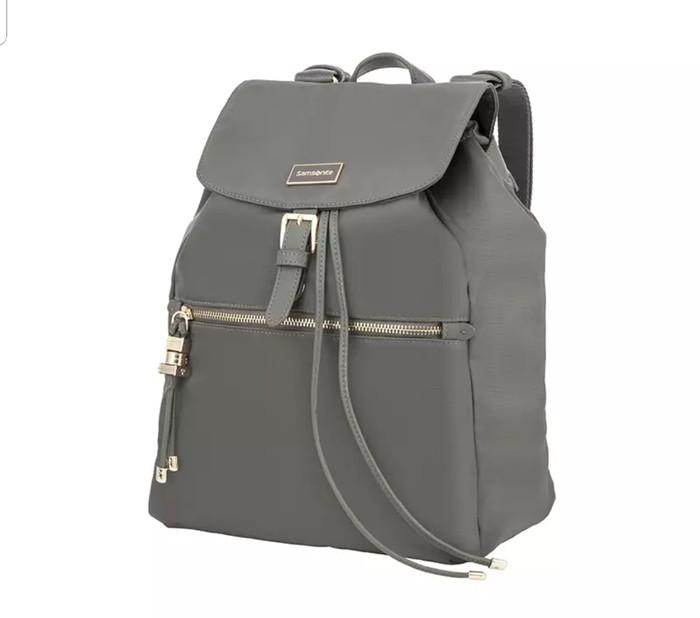 harga Samsonite karissa backpack gunmental green Tokopedia.com