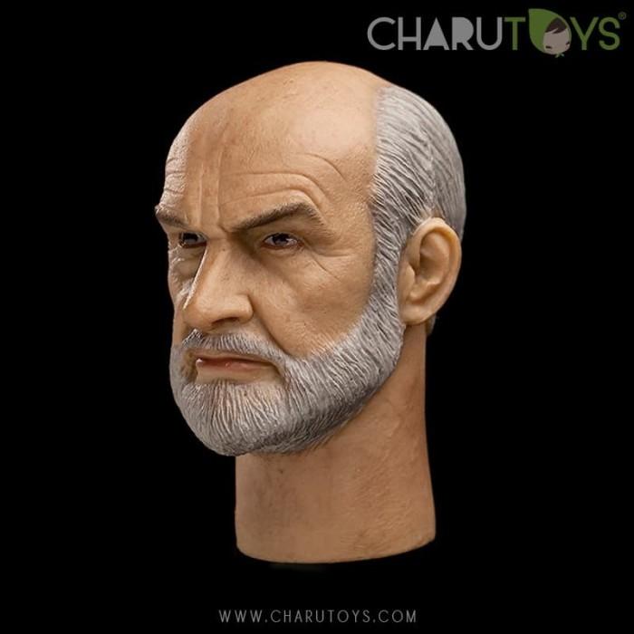 Foto Produk 1/6 Scale Sean Connery Headsculpt for Hot toys dari Charu Toys