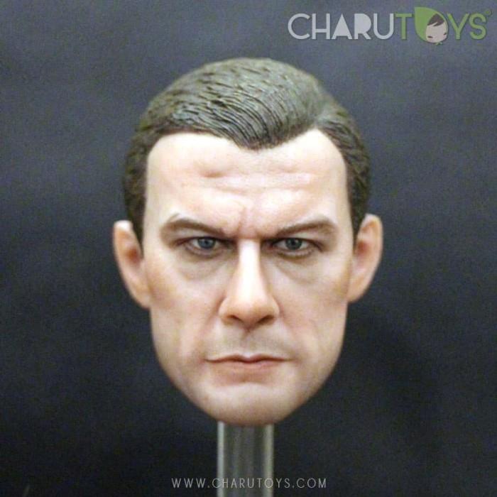 Foto Produk 1/6 Scale Fighter Headsculpt for Hot toys dari Charu Toys