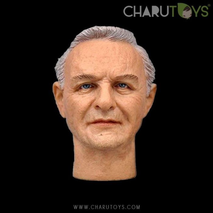 Foto Produk 1/6 Scale Anthony Hopkins Hanibal Headsculpt for Hot toys dari Charu Toys