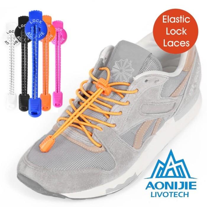 Jual AONIJIE ELASTIC LOCK LACES Tali Sepatu Serut Elastis Shoelace ... fc5390c15c