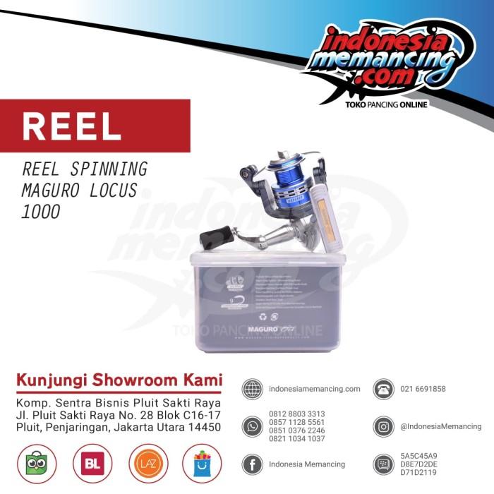 harga Reel spinning maguro locus 1000 Tokopedia.com