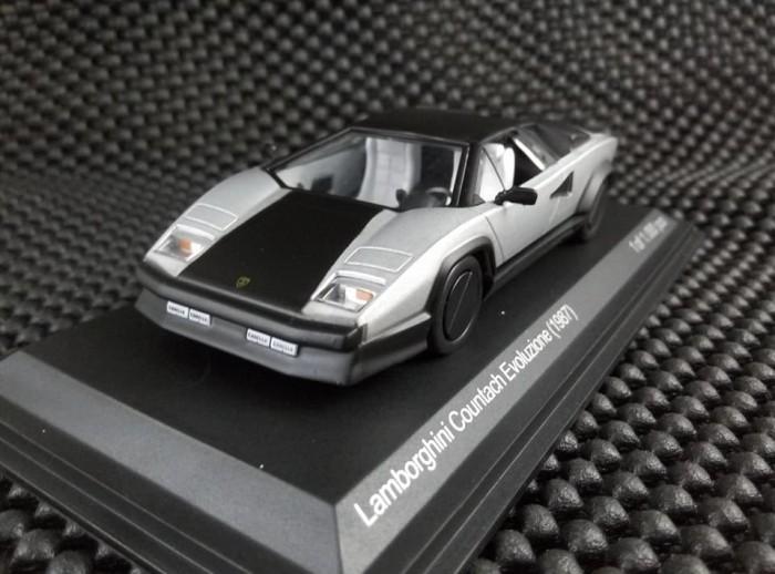 Jual Diecast Lamborghini Countach Evoluzione Year 1987 Whitebox