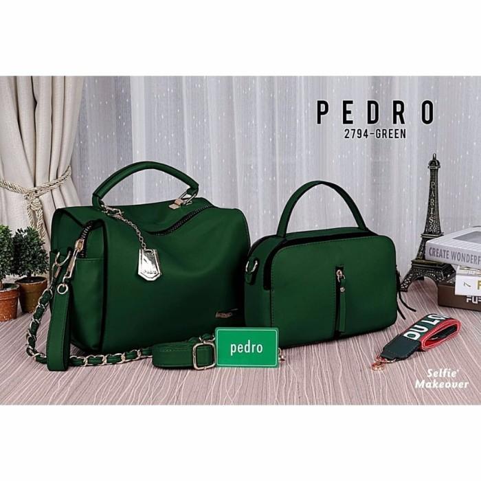 harga New item new pedro bag bonus tas evelyn seri 2794 Tokopedia.com