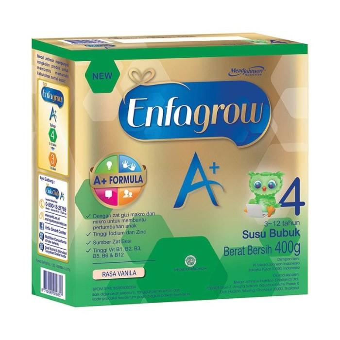Enfagrow a+ tahap 4 |400g | vanilla ekonomis
