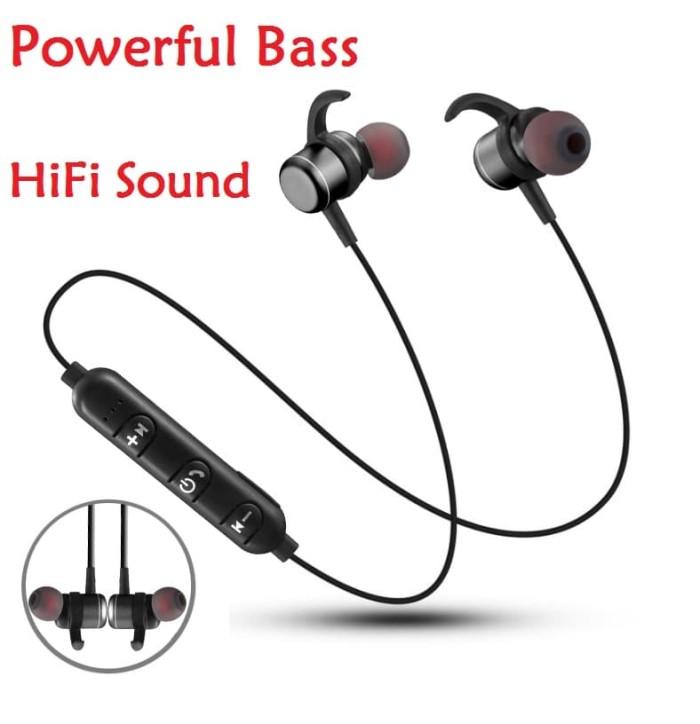 bccd43b2d7d Jual Murah Super Bass Headset Bluetooth 4.1 Sport Wireless Handsfree ...
