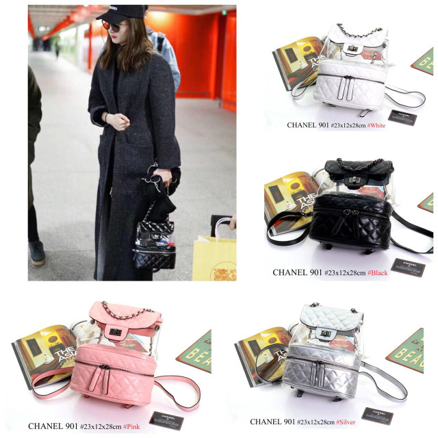 cf12b9b70e57d6 Jual Tas Chanel (Urban Transparent Backpack) Model 901 - Kota Batam ...
