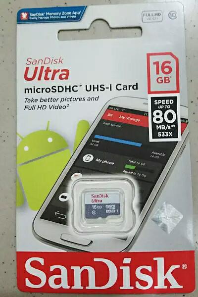 harga Mmc sandisk kartu memori memory card micro sd microsd 16gb 16 gb Tokopedia.com