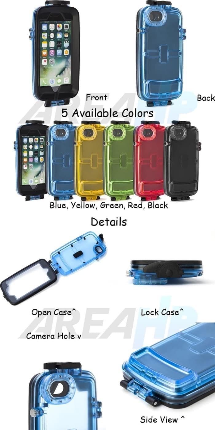 harga Iphone 7 8 waterproof diving case casing cover bumper armor keren Tokopedia.com