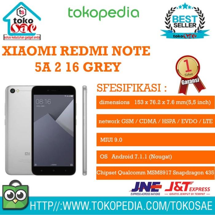 harga Hp xiaomi redmi note 5a 2 16 garansi resmi tam android xiomi original Tokopedia.com