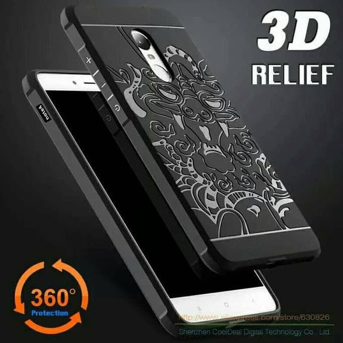 Dijual Case Cocose Dragon Original Xiaomi Redmi Note 4X Softcase