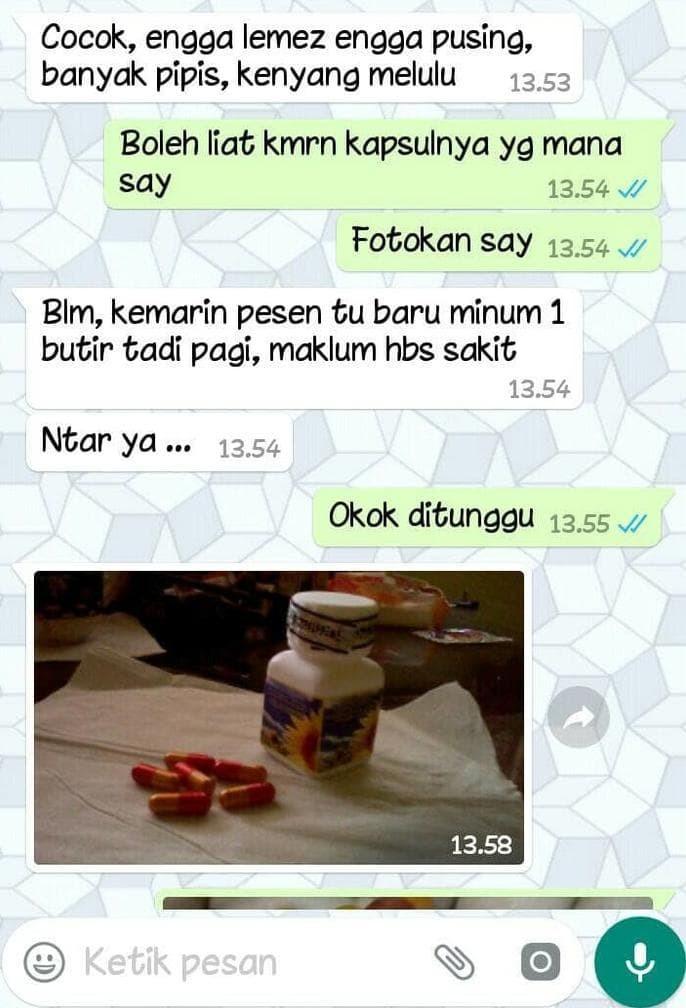 Jual Kjp New Original/ Kapsul Jamu Pelangsing Ori Keren