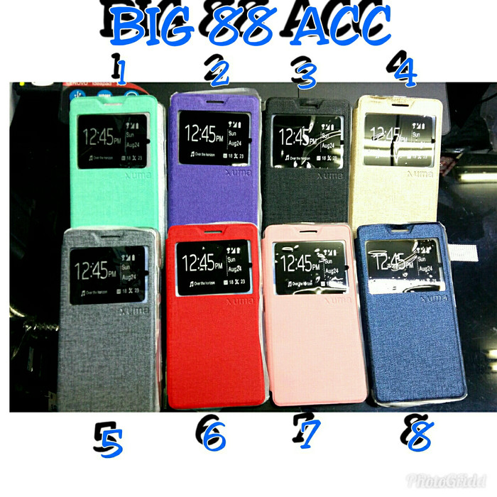 harga Flip shell-cover sarung standing xiao mi 4i/4c - redmi 4/4 prime Tokopedia.com